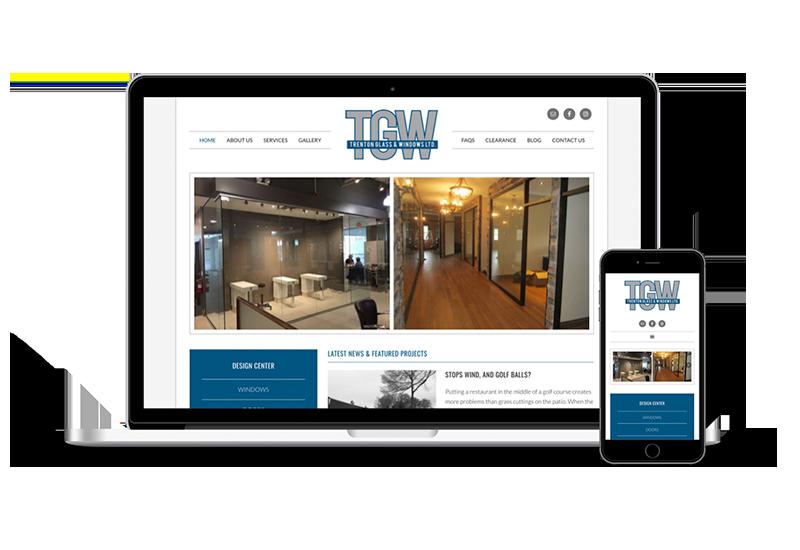 Trenton Glass Website