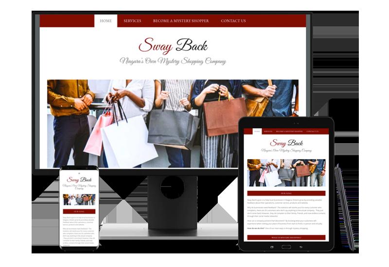 Swayback Web Design